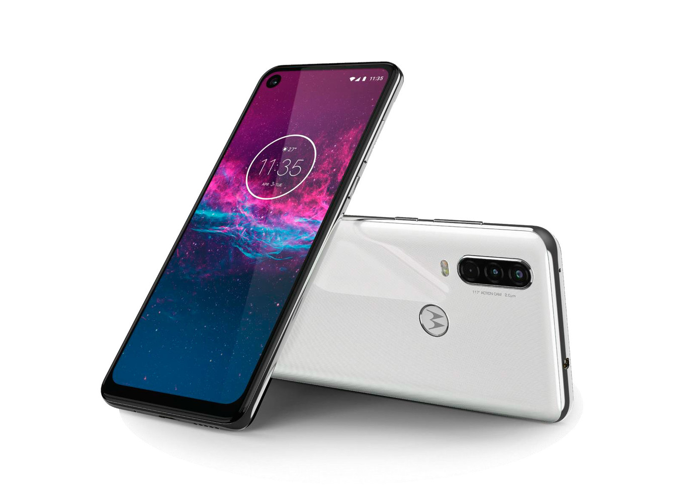 New Motorola One Action with action camera 3