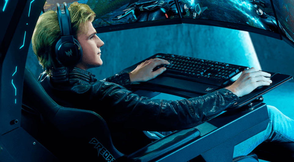 The Predator Thronos Air is Acer's gaming chair, a gamer for hard core enthusiasts.