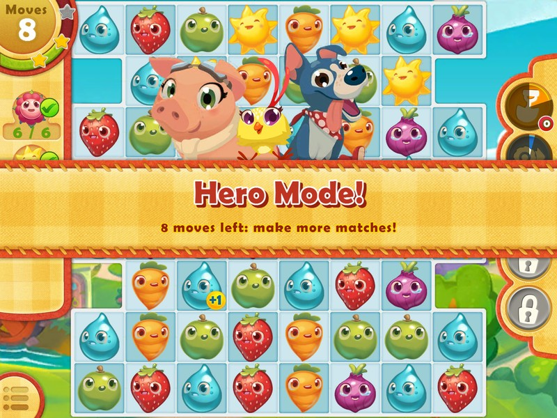 Farm Heroes Saga, new and fun levels available for iPhone and iPad 3