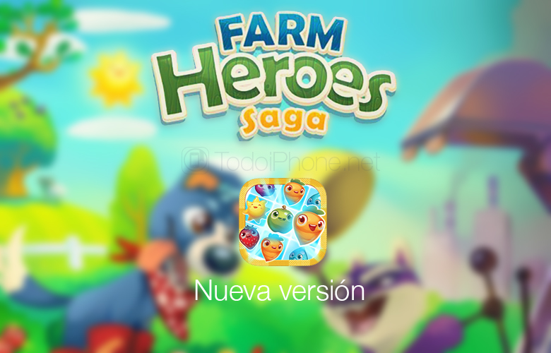 Farm Heroes Saga, new and fun levels available for iPhone and iPad 2