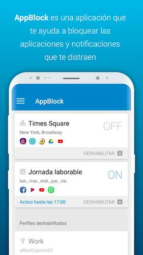 Android app block
