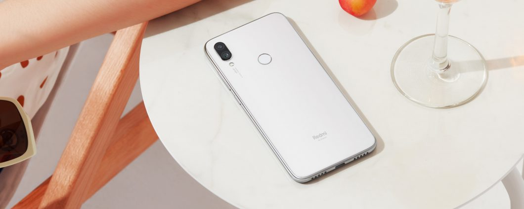 redmi Note 7 Moonlight White will arrive in Italy