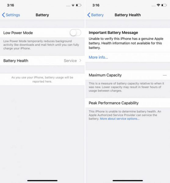 IPhone battery status blocked by software 557x600 1