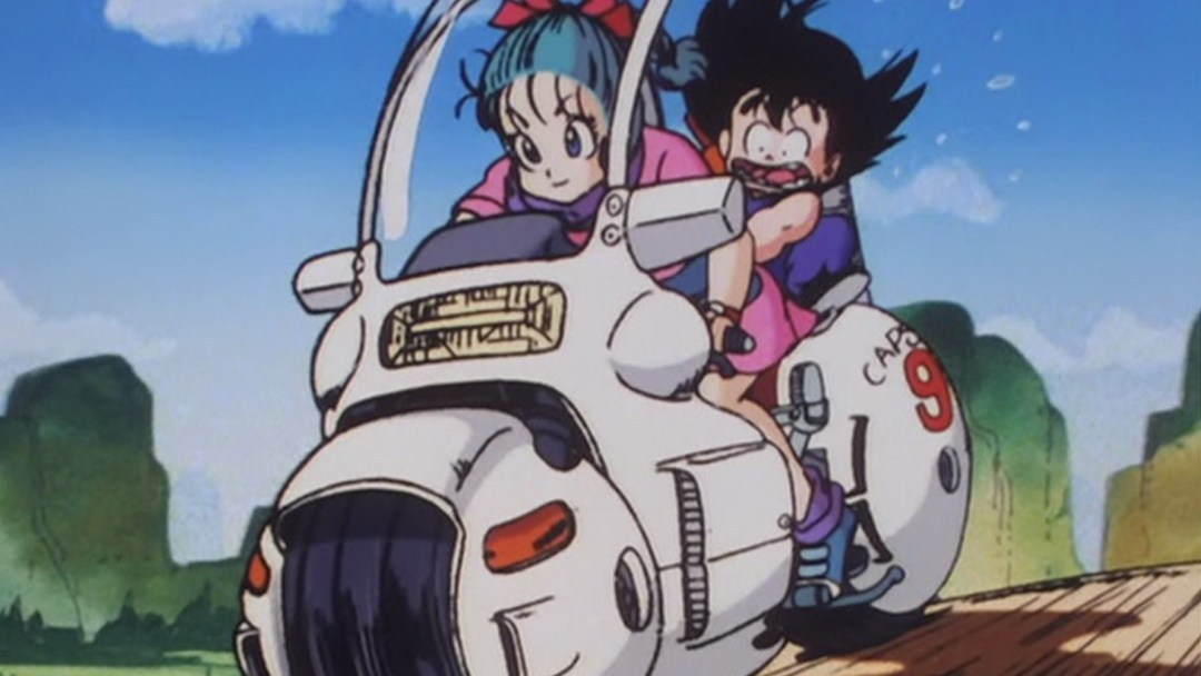 The Replica Of The Bulma Motorcycle In Dragon Ball Is Functional And Great