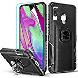 Robust anti-shock case with ring for Samsung Galaxy A40