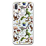 Samsung case Galaxy A40 from Toy Story. Case with The Silhouettes of the Toy Story Characters, a Case with Official Disney License to Protect your Samsung from scratches and bumps.