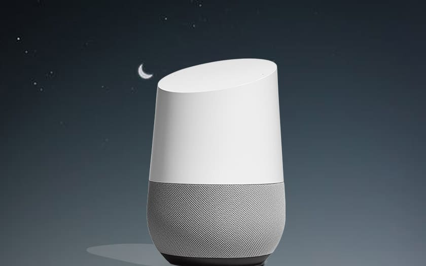 Google Home: how to activate night mode to make the speaker quieter?
