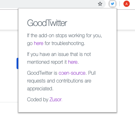 How to return to the old design of Twitter? 7