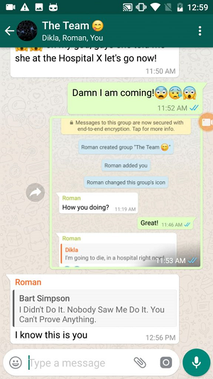Image - A security flaw in WhatsApp allows you to manipulate your messages