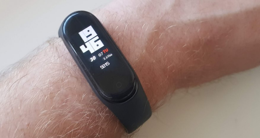 Xiaomi Mi Band 4: the best low-cost fitness bracelet 7