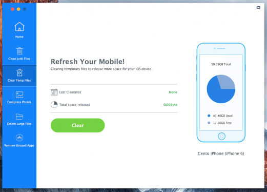 iMyfone, the app that will help you keep your iPhone healthy and clean 5