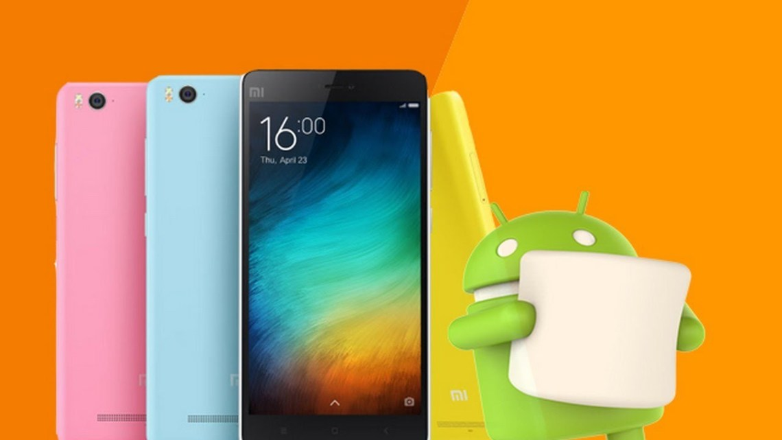 xiaomi android 6.0 operating system