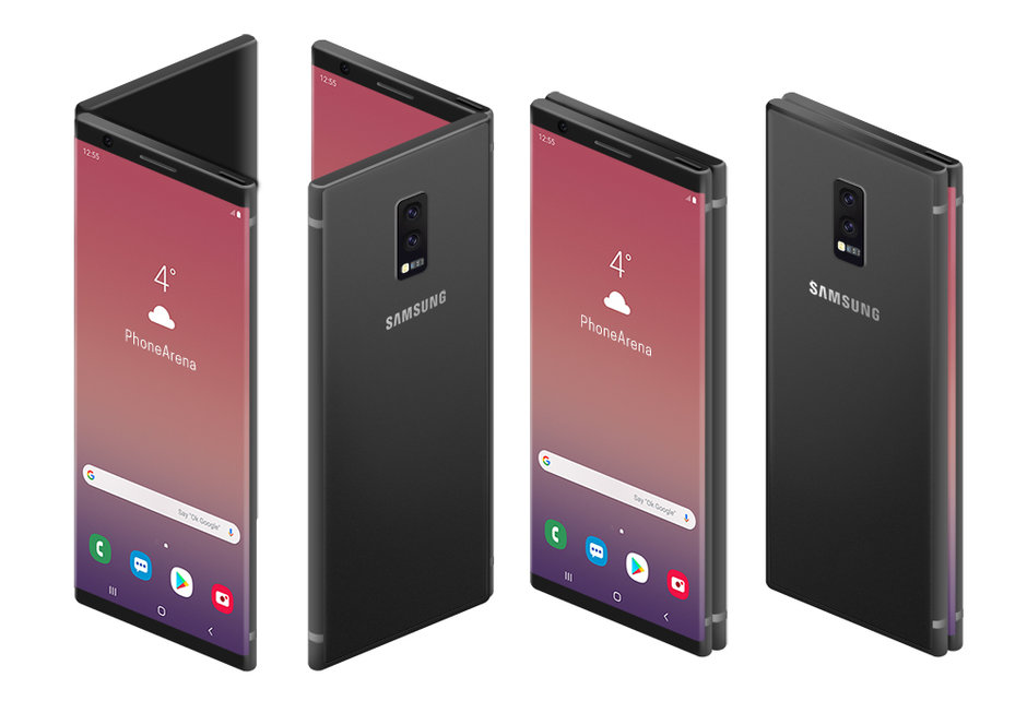 Galaxy Fold  would be the name of Samsung's folding team, according to Evan Blass 2