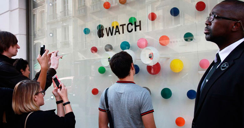 The launch of Apple Watch could be displaced as of June 3