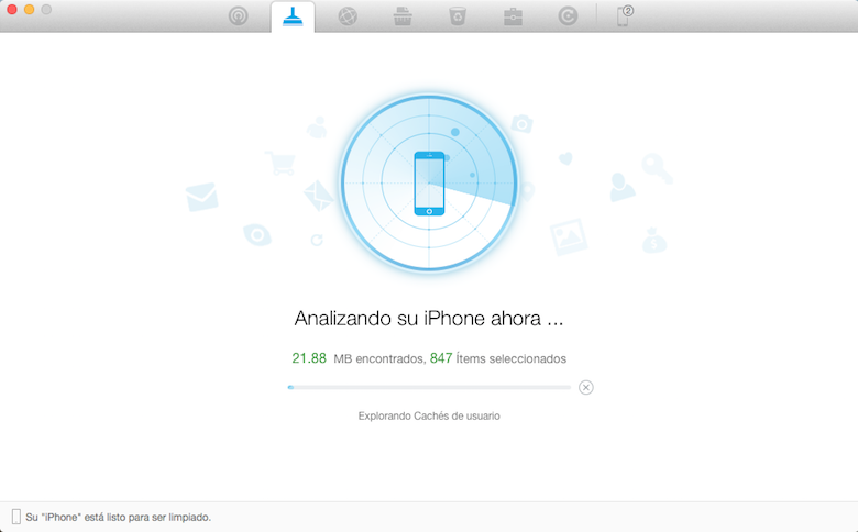 PhoneClean 4, free up space on your iPhone safely from Mac and Windows 13
