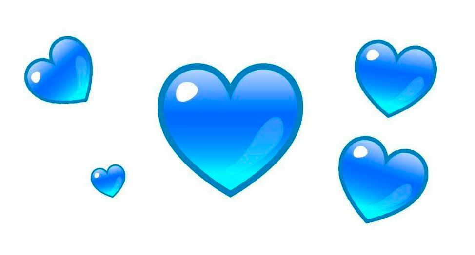 WhatsApp: the blue heart emoji is ideal for use when love ends