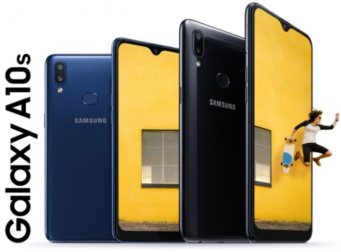 Samsung Galaxy A10s comes with dual camera and battery with 4,000 mAh capacity