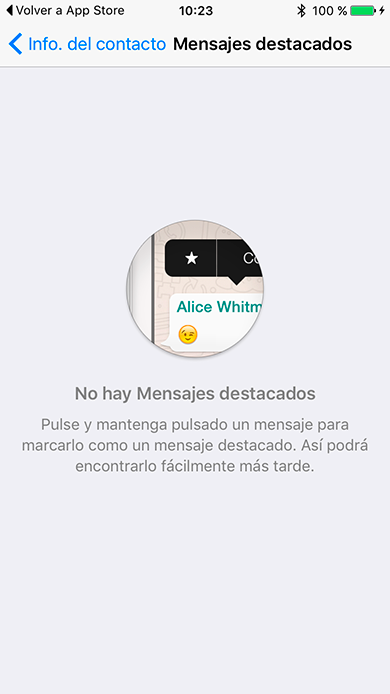 WhatsApp now allows you to bookmark «Featured Messages» 7