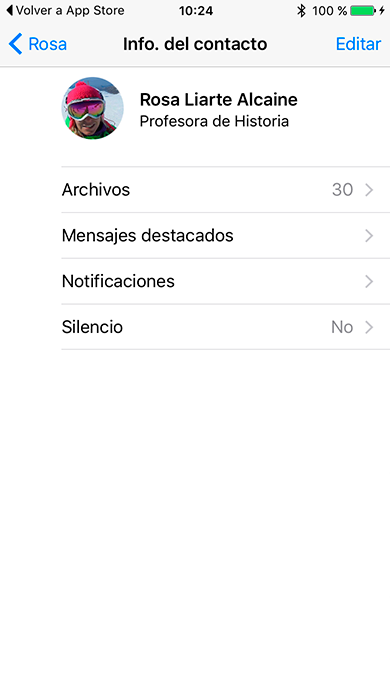WhatsApp now allows you to bookmark «Featured Messages» 6