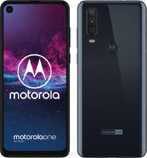 Motorola One Action boasts a triple camera with a wide-angle sensor specializing in motion pictures