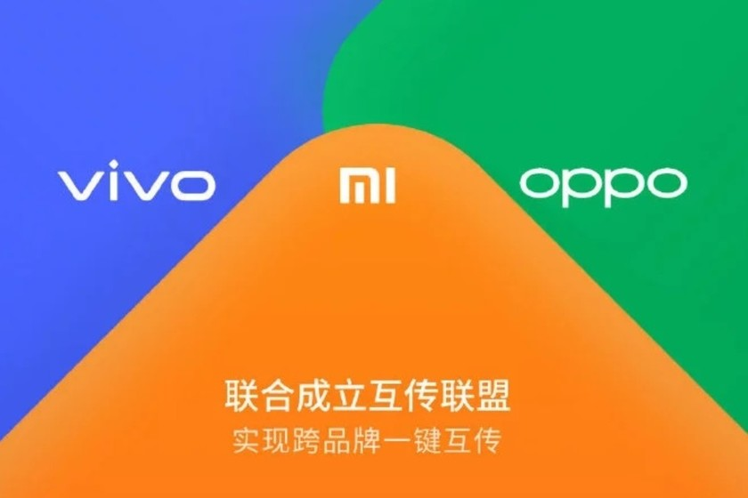 """OPPO, Xiaomi and Vivo they work on an """"Airdrop for Android"""" capable of transmitting files via WiFi at 20MB / s"""