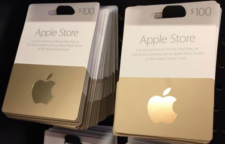 Apple Store App now supports Gift Cards or Gift Cards 5