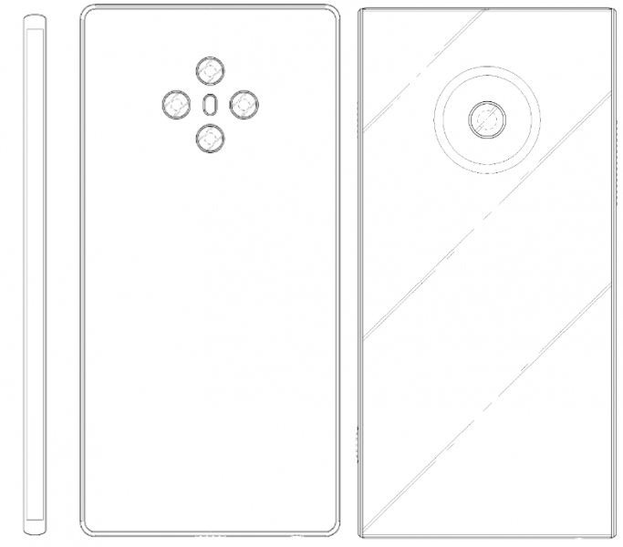 LG: Patents show smartphone without buttons and device with interesting camera