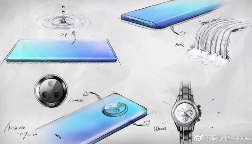 """- ▷ Real images of Vivo NEX 3 show their """"waterfall screen"""" »- 4"""
