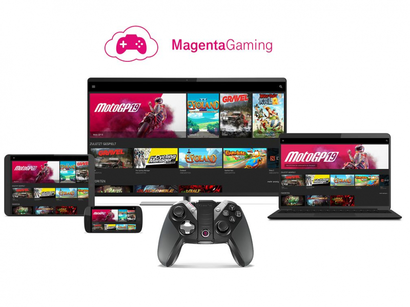 Magenta Gaming: Telekom attacks Google Stadia with its own cloud gaming service