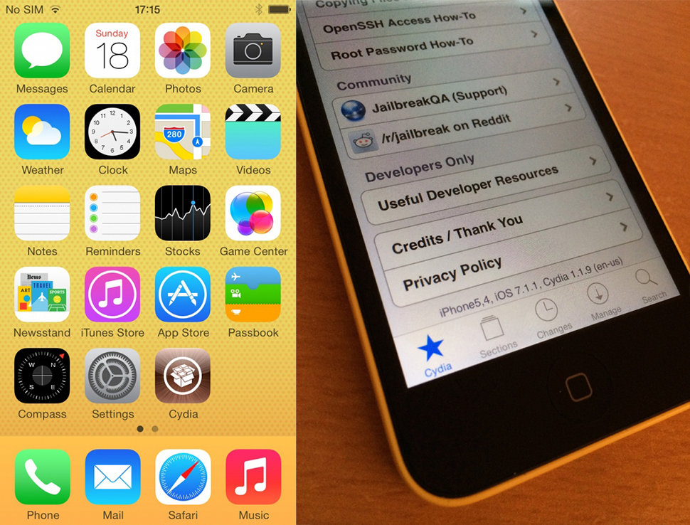 Jailbreak iOS 7.1.1, according to iH8sn0w will be available soon 3