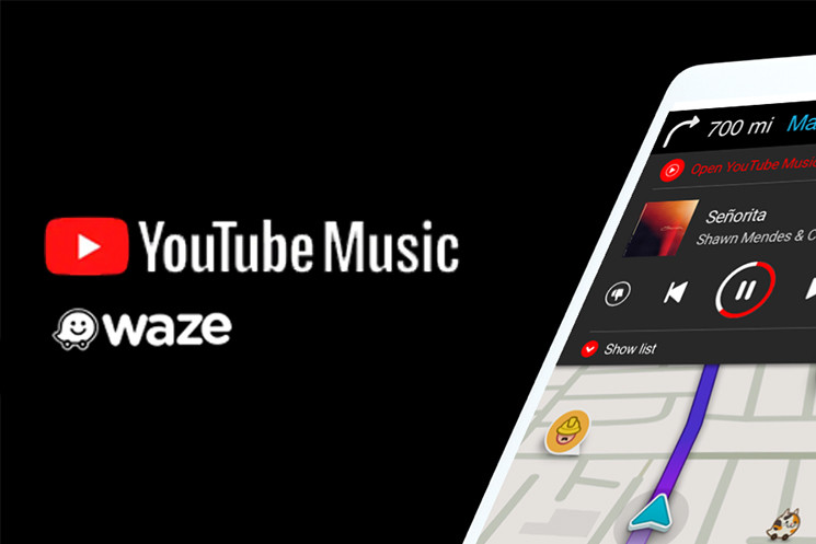 Waze now allows you to control the playback of YouTube Music without leaving the application