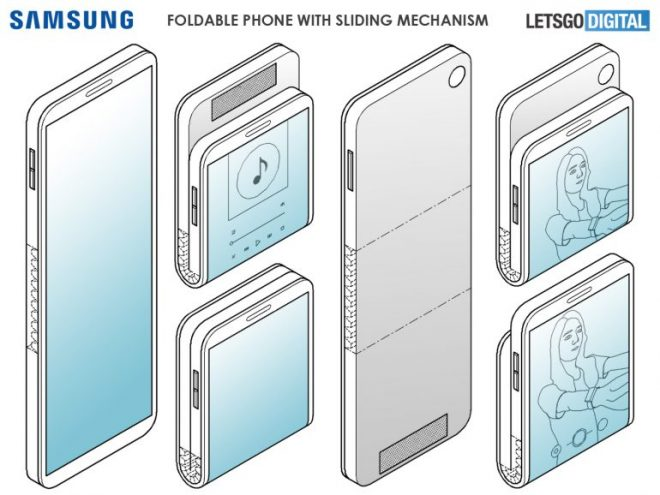 Samsung Foldable Phone is Able to Fold in Two Directions, According to New Patent 5