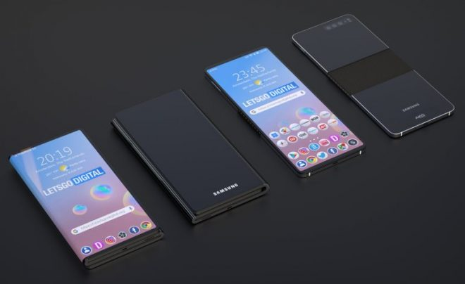 Samsung Foldable Phone is Able to Fold in Two Directions, According to New Patent 6