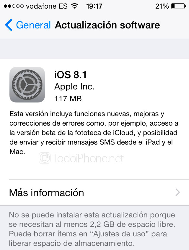 iOS 8.1 Available for iPhone and iPad (Links to download) 7
