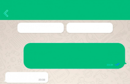 WhatsApp for iPhone, a preview of the new update 6