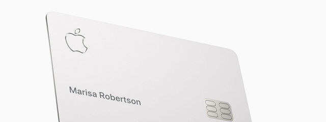The credit card of Apple cannot touch other cards or leather wallets
