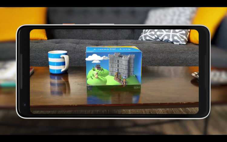 ▷ ARCore, Google Android app to create experiences of INCREASED REALITY 3