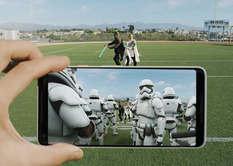 ▷ ARCore, Google Android app to create experiences of INCREASED REALITY 4