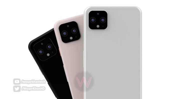 Google Pixel 4 imagined in a new render