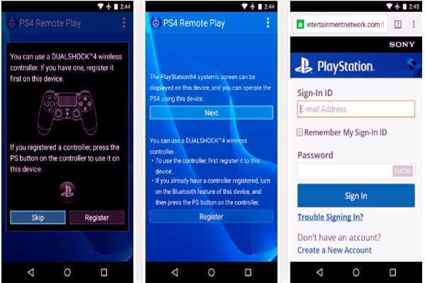Play your favorite PS4 games remotely on any Android device 3