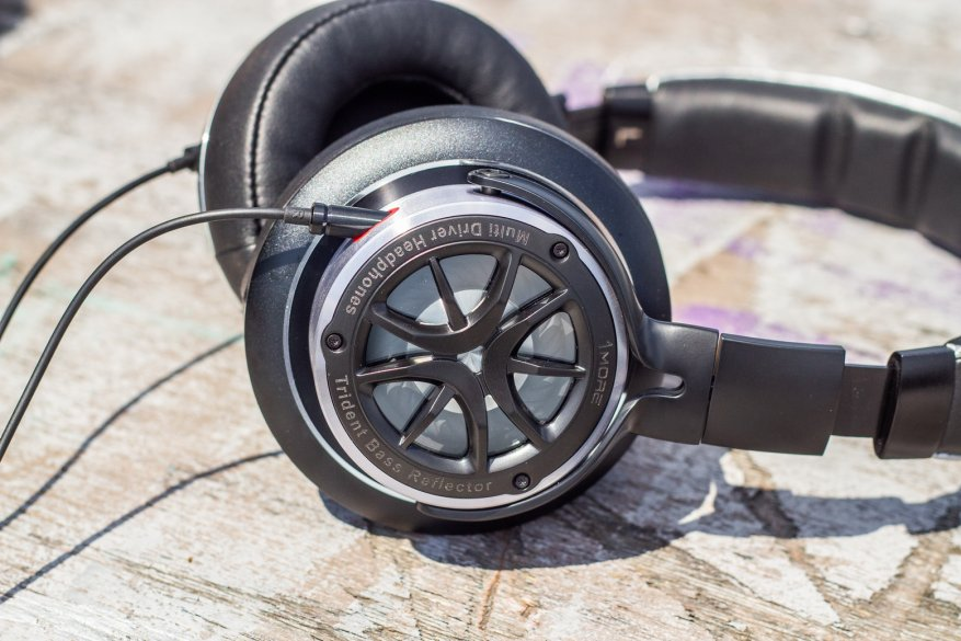 Overview of full-size 1More H1707 headphones: music lovers will be satisfied 73