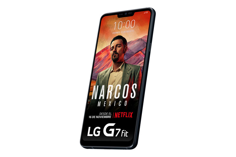 the best LG phones for less than € 300 LG G7 Fit screen