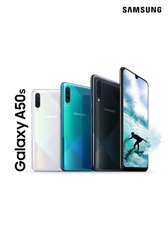 Samsung Galaxy Official A30s and A50s: more cameras, more design, less resolution (updated with a price) 2