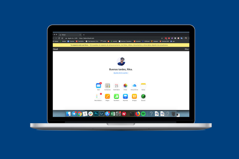 iCloud web is updated with a new design inspired by iOS 13, so far in its beta version