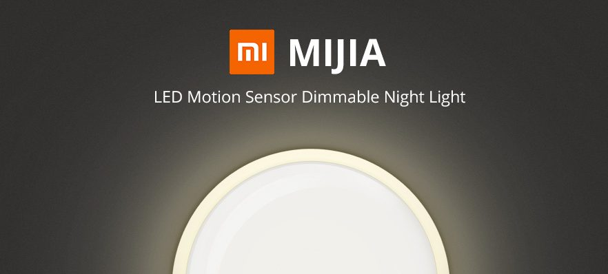 Mijia Night Light 2: This is the new night lamp with magnetic support from Xiaomi