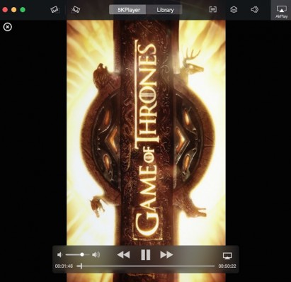 5KPlayer, use AirPlay to play music and video from your iPhone on your Mac or PC 11