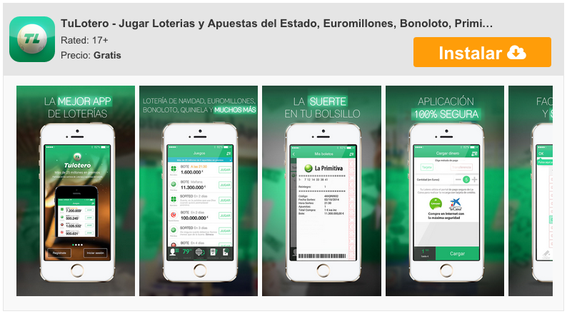 TuLotero, lottery, pools, Euromillions and much more from your iPhone 15