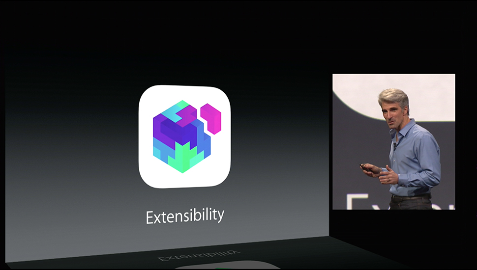 iOS 8: This is how the extensibility of Apps will work 2