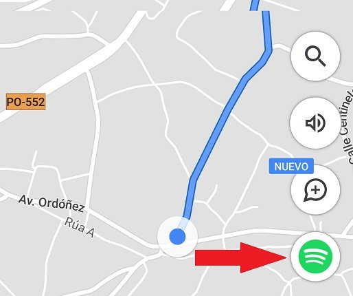 Image - How to control music on Google Maps