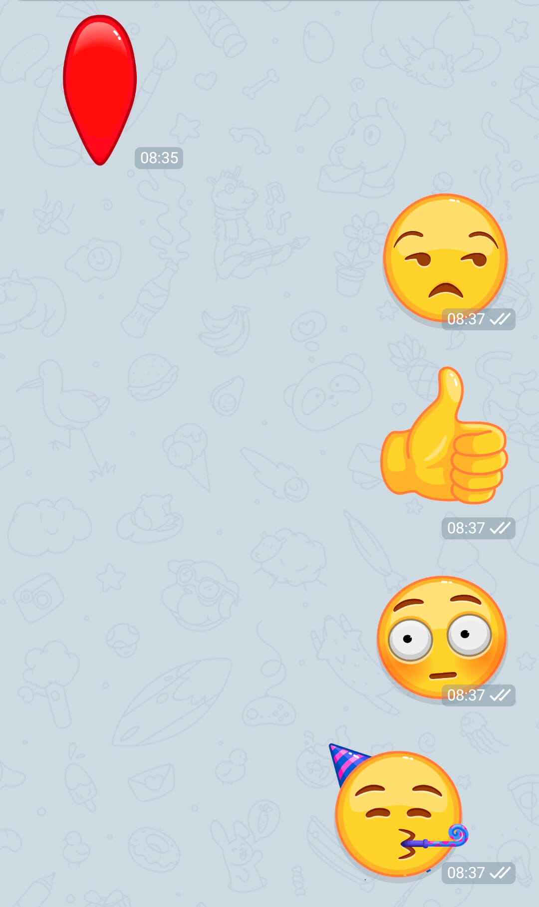 silent chats, animated emojis, slow chat ... 1